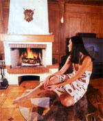 """""""Мечтаю о деревянном доме с камином и креслом-качалкой"""""""